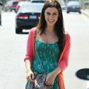 Jessica Lowndes: at hair appointment in Los Angeles