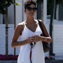 Nicole Murphy is spotted shopping at Bristol Farms in West Hollywood on April 17, 2016