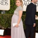 Kristen Bell At The 70th Golden Globe Awards - Arrivals (2013)
