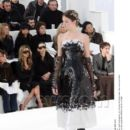 Victoria Beckham and L'Wren Scott attend the Chanel fashion show during Paris Fashion Week (Haute Couture) Spring/Summer 2006 on January 24, 2006 in Paris, France - 392 x 512
