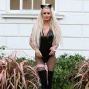 Olivia Attwood – 'The Only Way is Essex' Halloween Special TV Show Filming in Essex