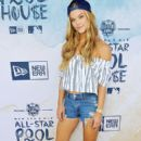 Model Nina Agdal attends the New Era Pool House at MLB All-Star Week at Palomar Hotel on July 11, 2016 in San Diego, California