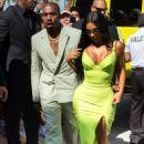 Kim Kardashian and Kanye West at 2 Chainz wedding in Miami