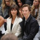 Benedict Cumberbatch and Sophie Hunter - September 21, 2015-Burberry Womenswear Spring/Summer 2016 - Front Row & Runway
