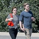 Emma Watson and Chord Overstreet – Out in Los Angeles - 454 x 681