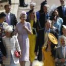 George Clooney and Amal Alamuddin :  Prince Harry Marries Ms. Meghan Markle - Windsor Castle - 454 x 284