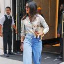 Priyanka Chopra – Out with her dog in New York