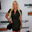 "Mary Carey, Garry ""Prophecy"" Sun, and Paula Labaredas at the premiere of ""With Great Power: The Stan Lee Story"" in Pasadena"