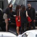 Kim Kardashian: arrive at an 'X-Factor' in Los Angeles