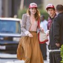 Emma Stone – Seen arriving at 'Jimmy Kimmel Live' in Los Angeles