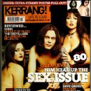 Ville Valo - Kerrang Magazine Cover [United Kingdom] (22 November 2003)