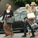 Ashley Tisdale was spotted shopping with Hilary and Haylie Duff this past Sunday, September 25, in Los Angeles - 454 x 429