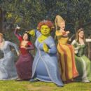 In 'Shrek the Third,' Princess Fiona (center, voice of Cameron Diaz) is  joined by (left to right) obsessive-compulsive Cinderella (voice of Amy  Sedaris), prissy-but-sarcastic Snow White (voice of Amy Poehler), opinionated Rapunzel (voice of Maya