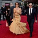 Thalia and Tommy Mottola- 2016 Tony Awards - Arrivals