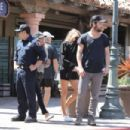 Charlotte McKinney leaves OLO Restaurant in Malibu, CA March 26th,2017 - 454 x 303