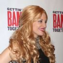 Rachel York – Gettin' The Band Back Together Opening Night on Broadway in NY