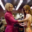 "ELLEN BARKIN as Abigail Sponder and KRIS KANE as Fired Waitress in Warner Bros. Pictures' and Village Roadshow Pictures' ""Ocean's Thirteen,"" distributed by Warner Bros. Pictures. The film also stars George Clooney, Brad Pitt, - 454 x 286"