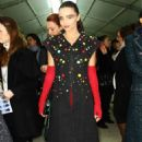 Miranda Kerr out for the Chanel show in Paris March 6,2012