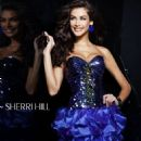 Dayana Mendoza and Ximena Navarrete- for Sherri Hill by Fadil Berisha - 454 x 539