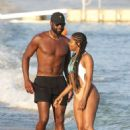 Gabrielle Union – Bikini Candids at vacation on the island of Mykonos - 454 x 695
