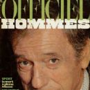 Yves Montand - L'Officiel Hommes Magazine Cover [France] (August 1981)