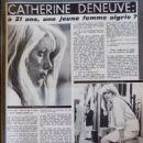 Catherine Deneuve - Cine Revue Magazine Pictorial [France] (7 January 1965) - 454 x 585