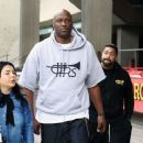 Lamar Odom is spotted out filming a new reality tv show in Beverly Hills, California on January 9, 2017 - 454 x 368