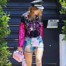 Bella Thorne – Heads to a party in Studio City - 454 x 681