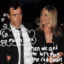 Jennifer Aniston and Justin Theroux - 450 x 524