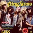 W. Axl Rose, Slash, Izzy Stradlin, Duff McKagan, Steven Adler - Rolling Stone Magazine Cover [Mexico] (May 2013)