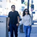 Emmy Rossum and Sam Esmail – Out in Beverly Hills - 454 x 604