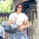 Katharine McPhee – Shopping at Madison Avenue in New York