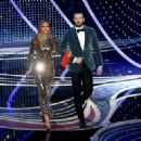 Jennifer Lopez and Chris Evans At The 91st Annual Academy Awards - Show - 454 x 323