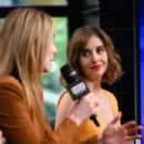 Alison Brie and Betty Gilpin – Seen on AOL Build in NYC - 454 x 302