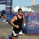 Actor Chace Crawford participates in the Nautica Malibu Triathlon at Zuma beach on September 20, 2015 in Malibu, California - 416 x 600