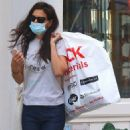 Katie Holmes – Shopping at a 'Blick' art store in Soho