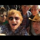 Ed Sheeran took a selfie with The Rolling Stones during soundcheck at Arrowhead Stadium, Kansas City, MO, USA - 27 June 2015