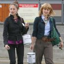 Kristin Kreuk and Allison Mack – Shopping in Vancouver - 454 x 550