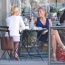 Sharon Stone Having Lunch In LA 7-16-2010