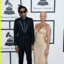 Amber Rose and Wiz Khalifa  attend the 56th GRAMMY Awards at Staples Center in Los Angeles, California - January 26, 2014