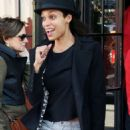 Rosario Dawson Street Style Out and About In New York