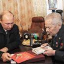 Vladimir Putin and Mikhail Kalashnikov - 454 x 306