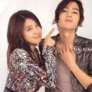 Jang Geun Suk and Park Shin Hye Photoshoots for Etude House