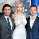 Oscar Isaac, Jennifer Lawrence and James McAvoy : 'X-Men Apocalypse' - Global Fan Screening - 454 x 277
