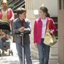Joshua Hutcherson and Charlie Ray