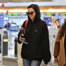 Dua Lipa – Arrives at LAX International Airport in LA - 454 x 621