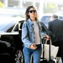 Emmy Rossum – Arrives at LAX Airport in LA - 454 x 676
