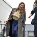 Kelly Brook in Long Coat at the ITV Studios in London