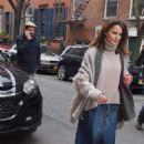 Keri Russell at Soho restaurant in New York - 454 x 681