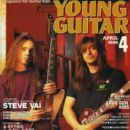 Dave 'The Snake' Sabo, Scotti Hill - Young Guitar Magazine Cover [Japan] (April 1995)
